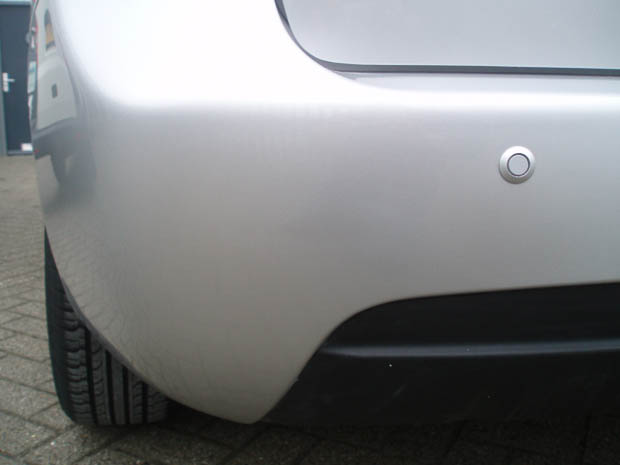Bumperschade na behandeling